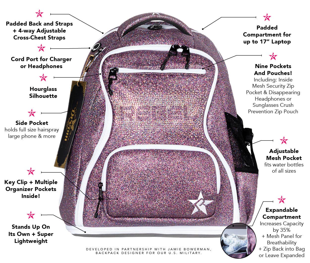 dream bag features